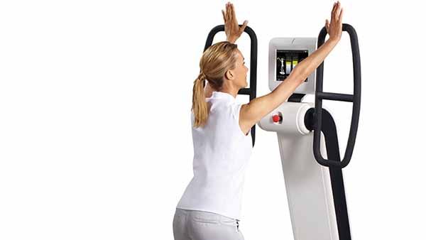 Huber 360 renforcement musculaire bras - sport et sante -kinesitherapie